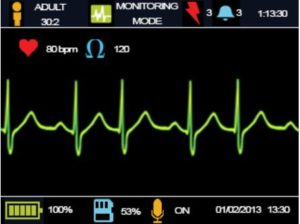 AED Saver One Professional mONITORING mODE