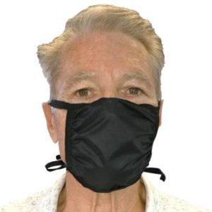 CritiCare Face Mask Vinyl on Face