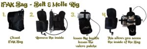First_Aid_IFAK_Bag_Belt_Molle_Rig_Step_by_Step